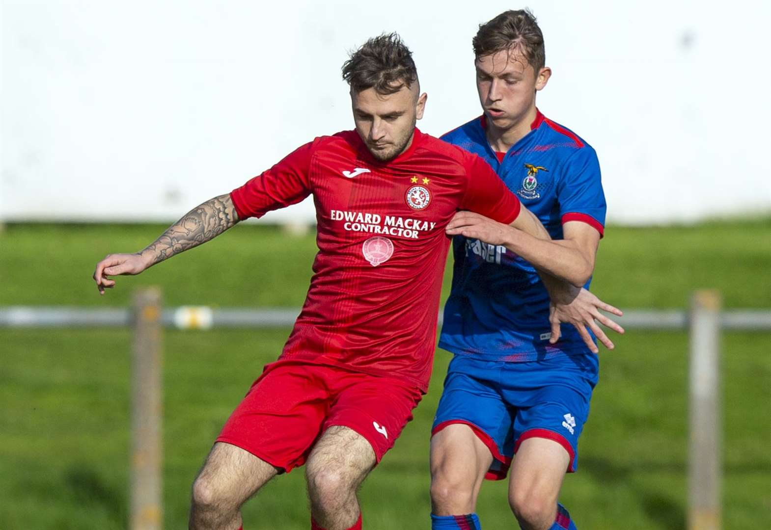 Seventh heaven for Brora Rangers who run riot in Scottish Cup