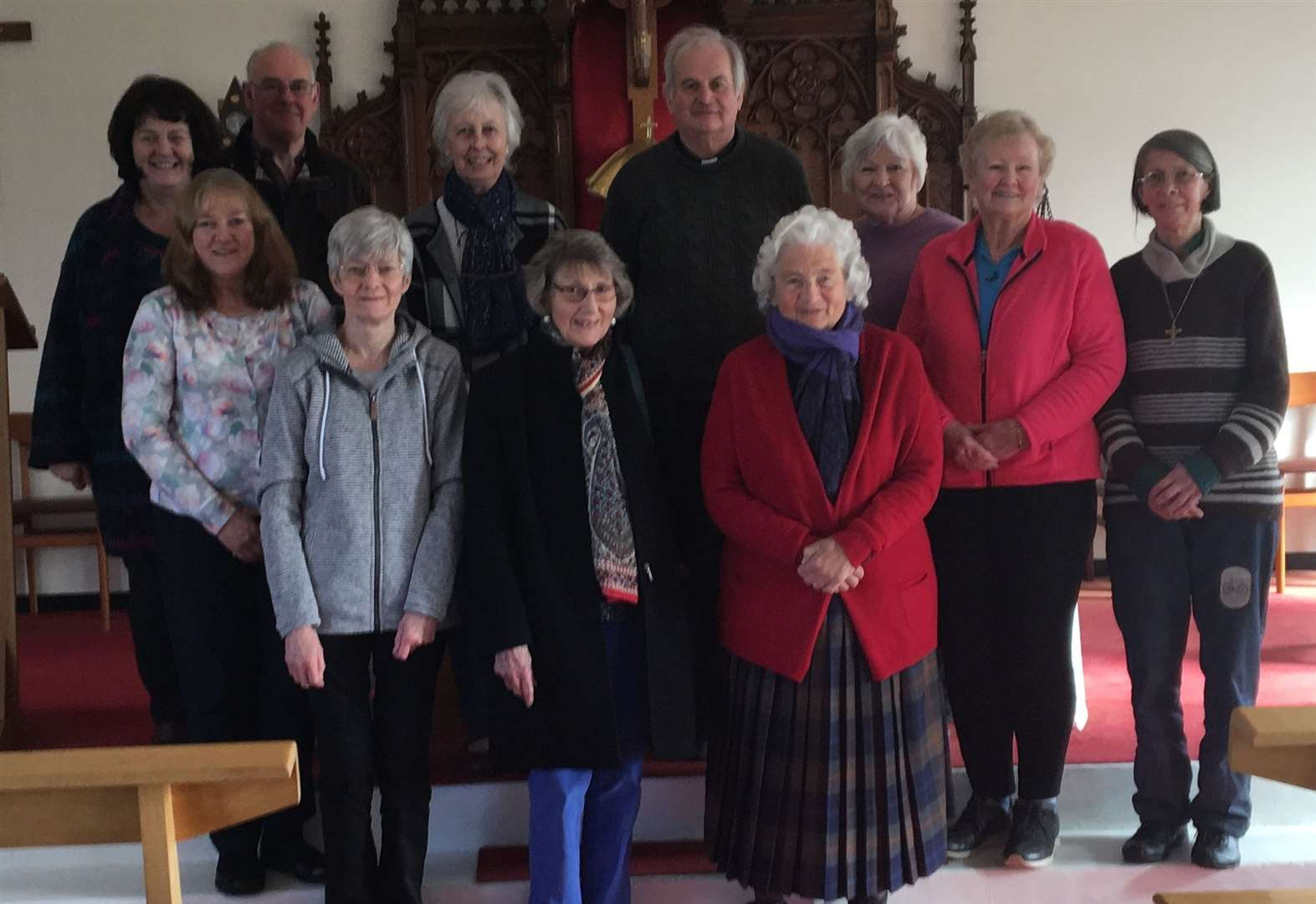 Brora priest enjoys 25th anniversary