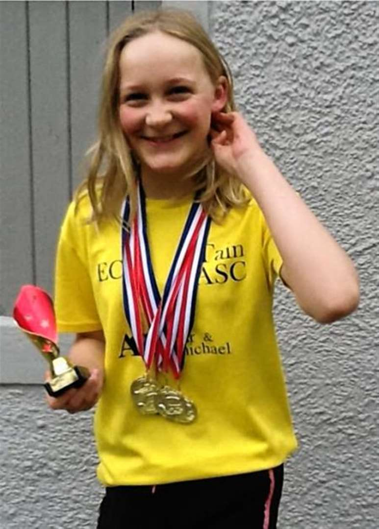 'Tain topedo' is fastest 11-year-old in Scotland