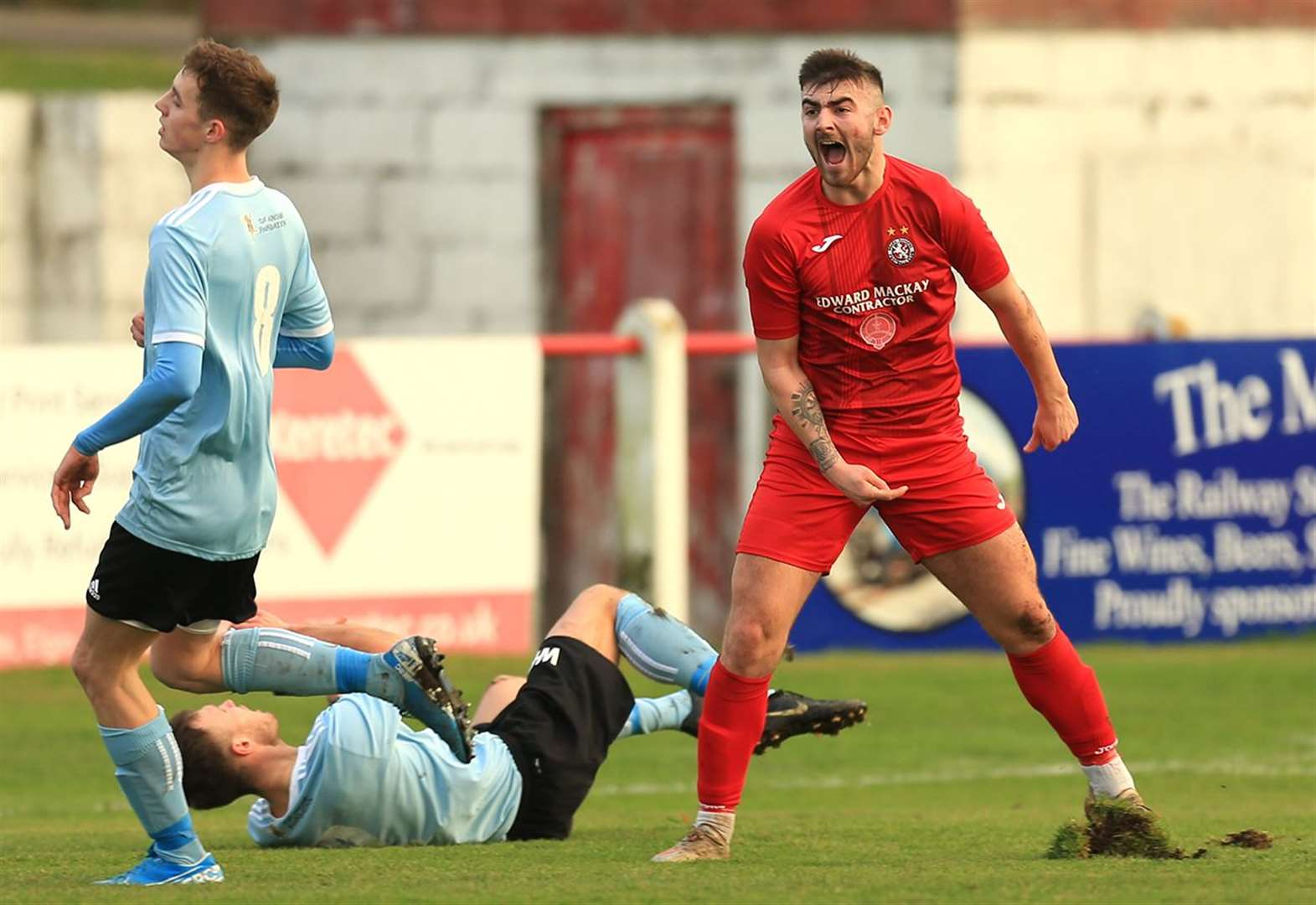 Two goals conceded but Brora remain top