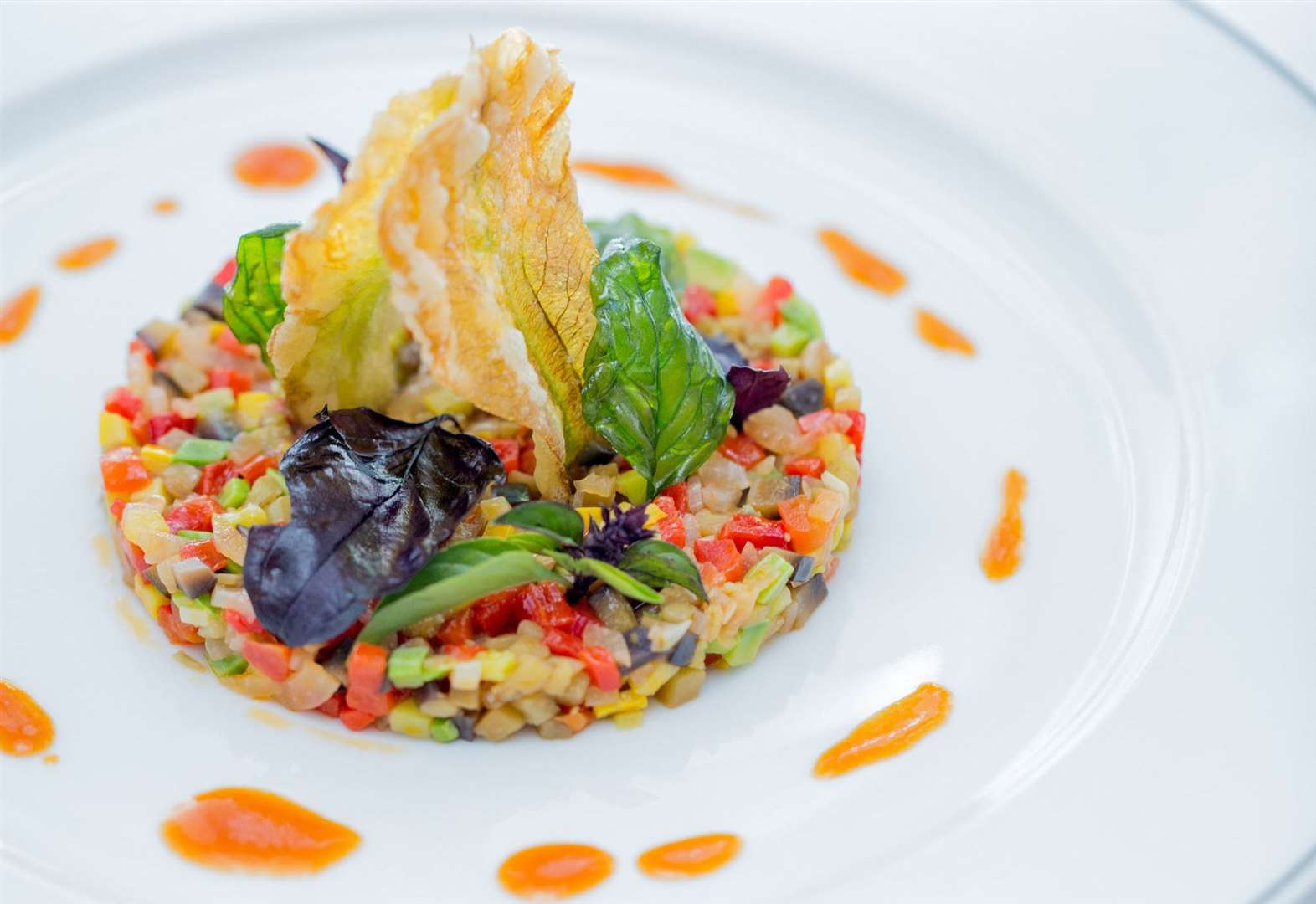 Recipe of the week: fine diced ratatouille by Alain Ducasse