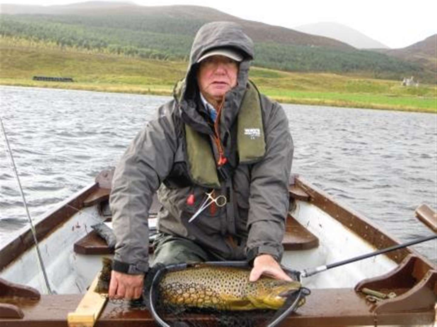 Mixed fortunes on Loch Brora