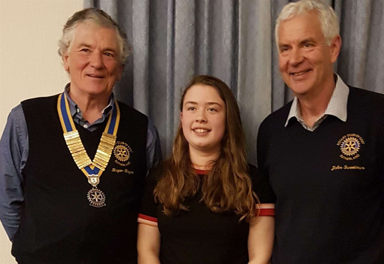 Teen's African trip talk to Rotary club