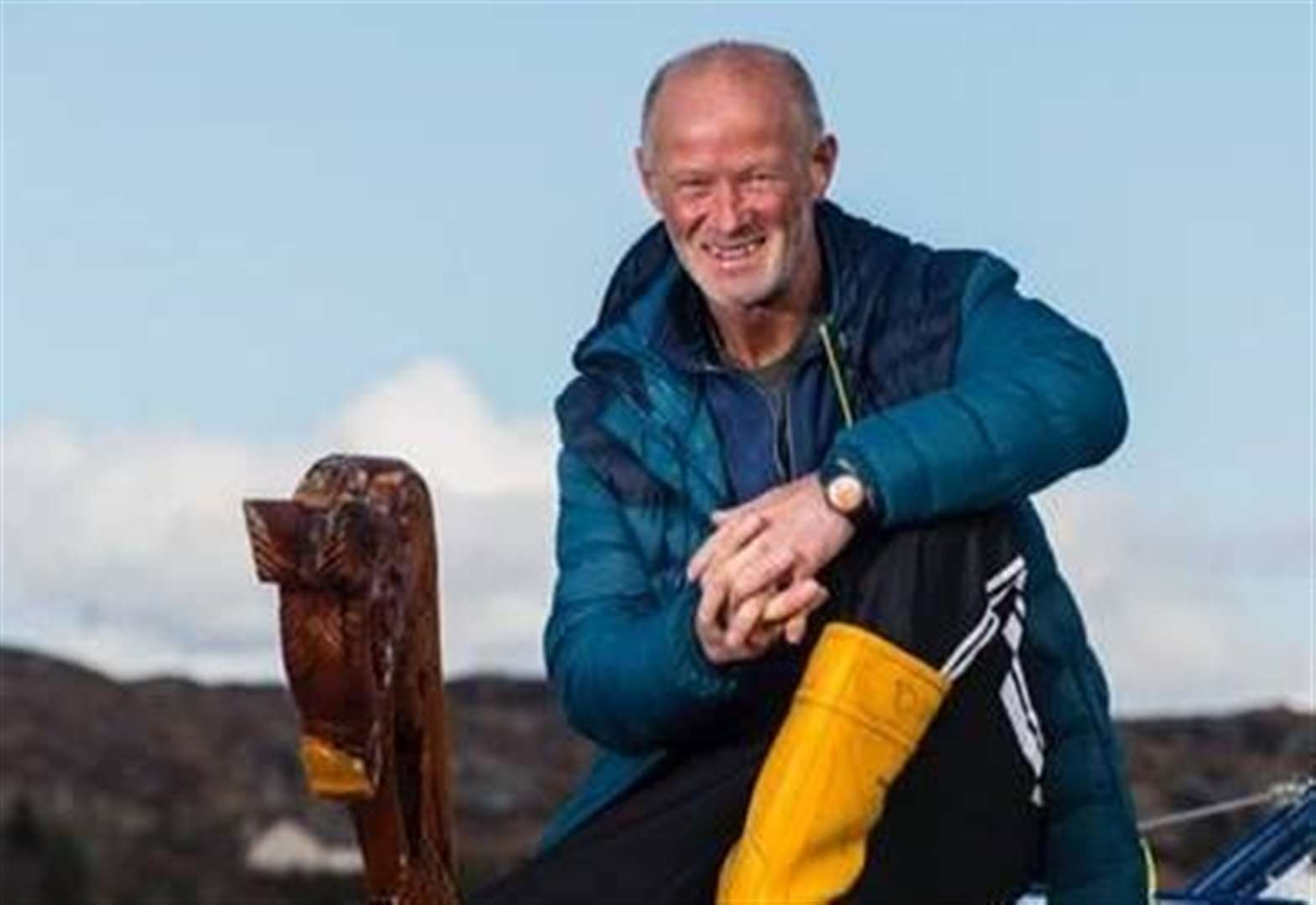 Lochinver man completes Atlantic row - on land!