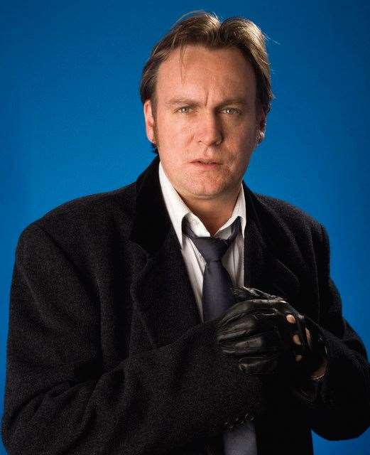 Famous actor Phillip Glenister is one who is taking part in the celebrity golf.
