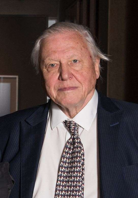 Sir David Attenborough will be guest speaker.