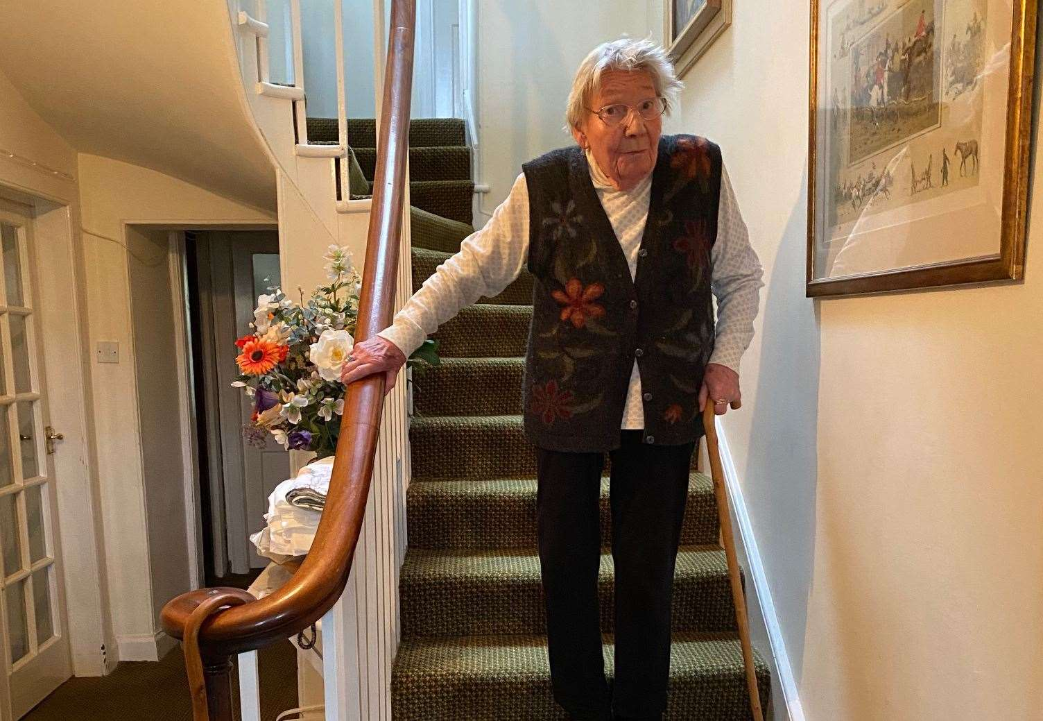 Inspirational Sutherland great-grandmother Margaret Payne (90) awarded top Helping it Happen accolade for lockdown Suilven stair climb for NHS Highland, Highland Hospice and RNLI