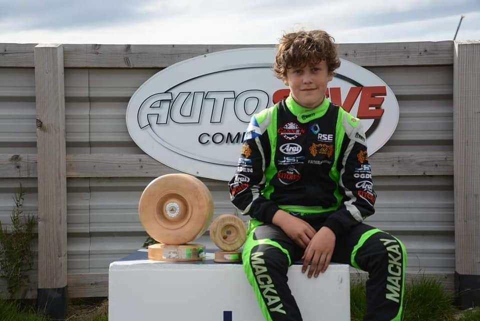 Dylan Mackay has impressed on tracks across the UK during his karting career.