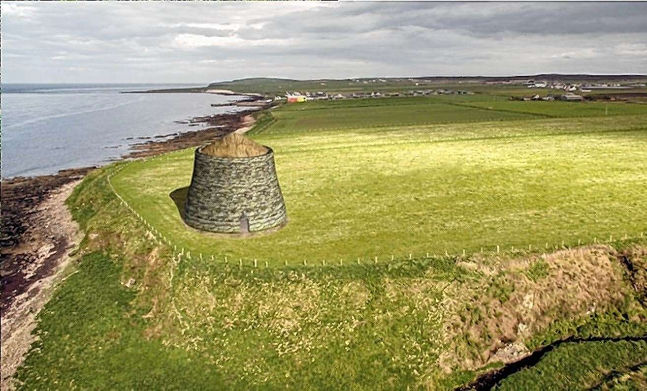 Caithness Broch Project is seeking to construct a replica broch as a visitor attraction for the county.