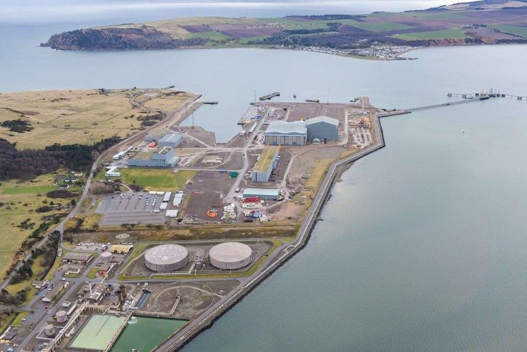 Port of Nigg will take over the jetty at the former oil terminal.