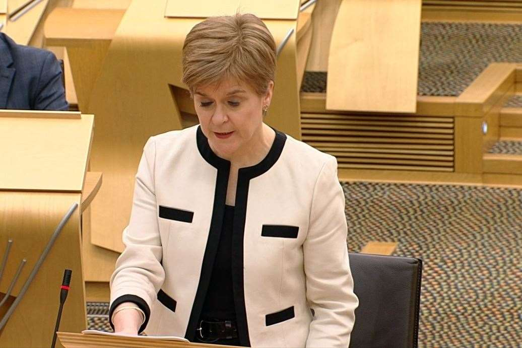 Nicola Sturgeon set to ease restrictions on outdoor meet-ups for Scots